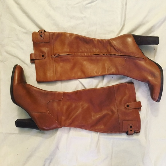 3b131a1b2 Banana Republic Shoes - BANANA REPUBLIC Camel Brown Leather Boots